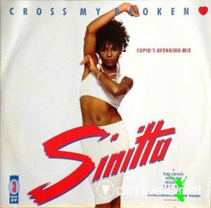 Sinitta - Cross My Broken Heart (Cupid's Avenging Mix) (Vinyl, 12'') 1988
