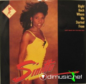 Sinitta - Right Back Where We Started From (Vinyl, 12'') 1989