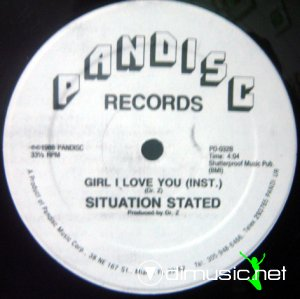 Situation Stated - Girl I Love You (Vinyl, 12'') 1988