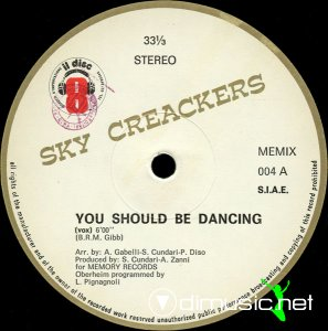 Sky Creackers - You Should Be Dancing (Vinyl, 12'') 1983