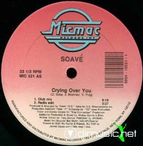 Soavé - Crying Over You (Vinyl, 12'') 1989