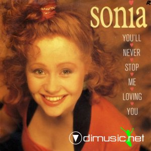 Sonia - You'll Never Stop Me Loving You (Vinyl, 12'') 1989