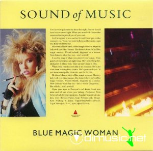 Sound Of Music - Blue Magic Woman (Vinyl, 7'') 1986