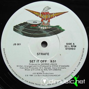 Strafe - Set It Off (Vinyl, 12'') 1984