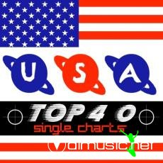 USA Hot Top 40 Singles Chart 12-October
