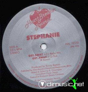 Stephanie - Get Away (Vinyl, 12'') 1989