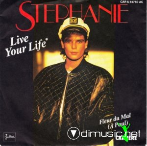 Stephanie - Live Your Life (Dance Version - Extended Remix) (Vinyl, 12'') 1987
