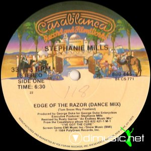 Stephanie Mills - Edge Of The Razor (Vinyl, 12'') 1984