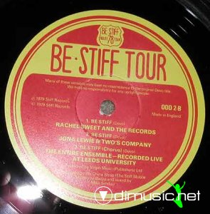 Various - Be Stiff Tour (Vinyl) 1979