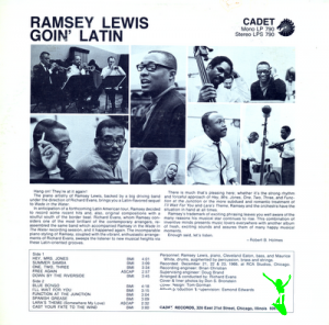 Ramsey Lewis - Goin' Latin (Vinyl, LP, Album)