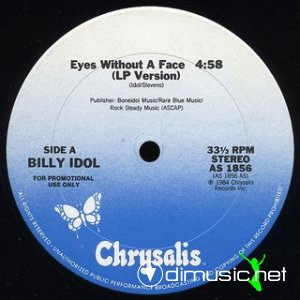 "Billy Idol ‎– Eyes Without A Face 12"" Vinyl"