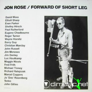 Jon Rose - Forward Of Short Leg (Vinyl, LP, Album)