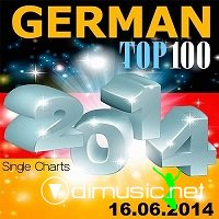 German Top 100 Single Charts 16.06.2014