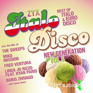 VA - ZYX Italo Disco New Generation Vol.5 (2xCD, Compilation) 2014