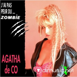 Agatha De Co - J'ai pas peur du zombie - Single 12'' - 1989