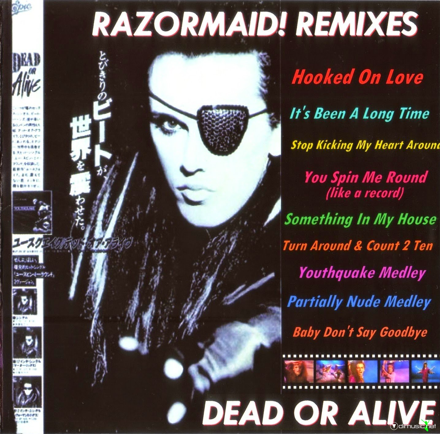 Dead or alive razormaid remixes album at odimusic for House remixes of classic songs