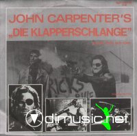 John Carpenter - Die Klapperschlange / Escape From New York (Vinyl, 12'') (1983)