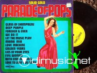 Unknown Artist - Parade of Pops ~  Solid Gold Series on Windmill 1976