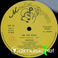 Oberhaim - On The Road-She Is Liar - Single 12 (1988)
