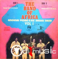 Gnonnas Pedro & his Dadjes Band - The Band of Africa vol.1,African Songs Ltd. 1975