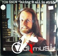 Cover Album of Tom Snow - Taking It All In Stride (1975)