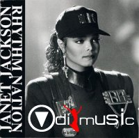 Janet Jackson - Rhythm Nation (The Remixes) (CD) 1990