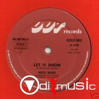 Nico Band - Let It Show ,Vinyl 12 (1984)