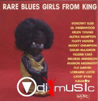 Various - Rare Blues Girls From King (Vinyl, LP)