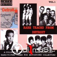 VA - RARE TRACKS FROM DETROIT (Vol1-Vol.14) 1994