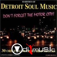 VA - Detroit Soul Music Rarities (1996)