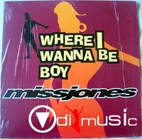 Missjones - Where I Wanna Be Boy (VLS) (1994)