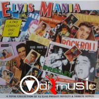 Various - Elvis Mania Vol.1 & Vol. 2. ( 2 Volumes )