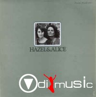 Cover Album of Hazel Dickens & Alice Gerrard - Hazel & Alice (1973)