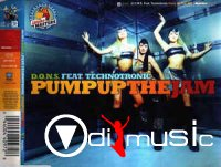 D.O.N.S. Feat. Technotronic - Pump Up The Jam (CD) (1998)