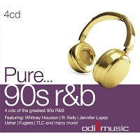 Various Artist - Pure R&B 90's 1-4 (CD)