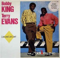 Bobby King & Terry Evans - Live And Let Live! (Vinyl, LP, Album)