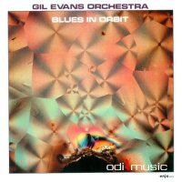 Cover Album of Gil Evans Orchestra - Blues in Orbit (1989)