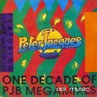 Peter Jacques Band - One Decade Of PJB Megamixes 1988 Maxi