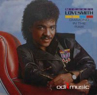 Cover Album of Michael Lovesmith - Diamond In The Raw (Vinyl, LP, Album) 1984
