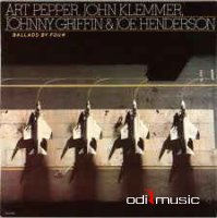 Art Pepper, John Klemmer, Johnny Griffin & Joe Henderson - Ballads by Four  Stanley Cowell  1981