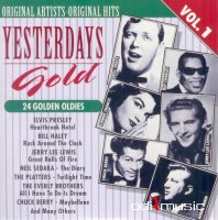 Cover Album of Various Artists - Yesterdays Gold - 24 Golden Oldies (25 CD)