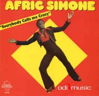 Afric Simone - Everybody Calls Me Crazy (Vinyl, LP, Album)