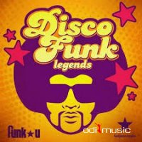 Cover Album of VA - Disco Funk Legends (2014)