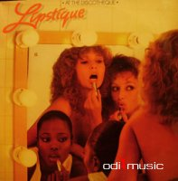 Cover Album of Lipstique - At The Discotheque (1977) Vinyl LP