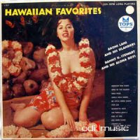 Cover Album of Akoni Lani And His Islanders, Danny K. Stewart And His Aloha Boys - Hawaiian Favorites
