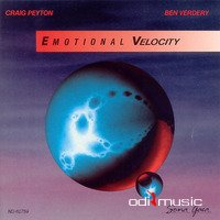 Cover Album of Craig Peyton And Ben Verdery - Emotional Velocity (Vinyl Lp) 1989