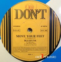 Bluefunk - Move Your Feet / That's A Part Of You (Vinyl, 12'') 1988