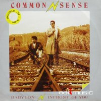 Common Sense - In Front Of You / Babylon (Vinyl, 12'') 1985