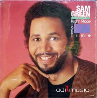 Sam Green - Right Place Right Time (Vinyl, LP, Album) 1989