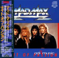 Mad Max - Night Of Passion (Vinyl, LP, Album) (Japan Edition) (1987)